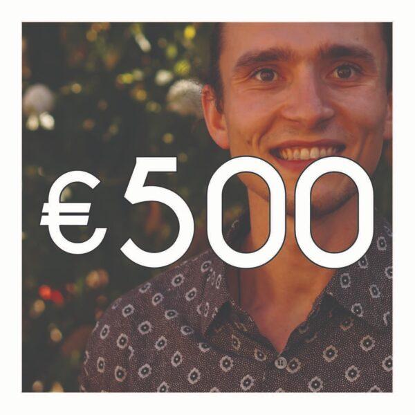 Crowdfunding €500