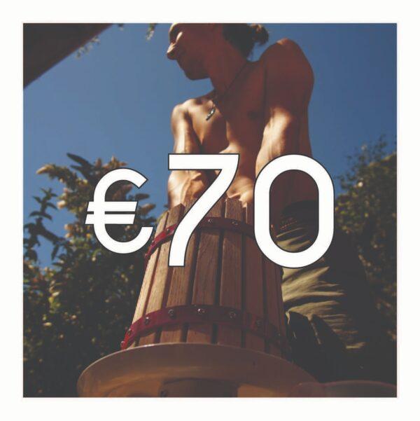 Crowdfunding €70