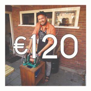 Crowdfunding: 6 flessen Gembruicius + B&K Cadeautjes